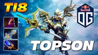 Topson Skywrath Mage | OG vs Wind and Rain TI8 | Dota 2 Pro Gameplay