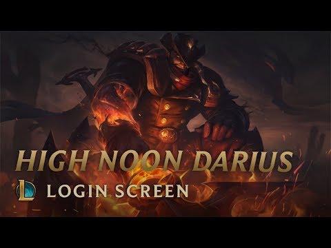 [FanMade]High Noon Darius - Login Screen