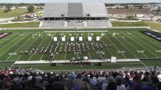 Porter High School Band 2015 - UIL 5A Area F Marching Contest