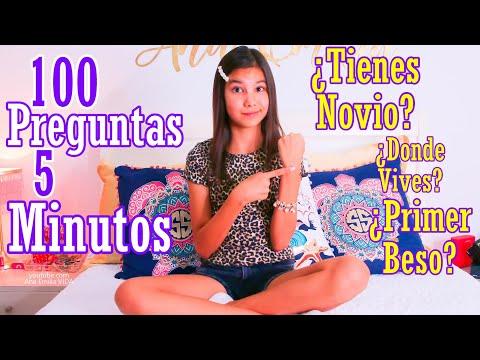 100 PREGUNTAS En 5 MiNUTOS | Ana Emilia VIDA