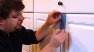 Install Cabinet Door Knobs