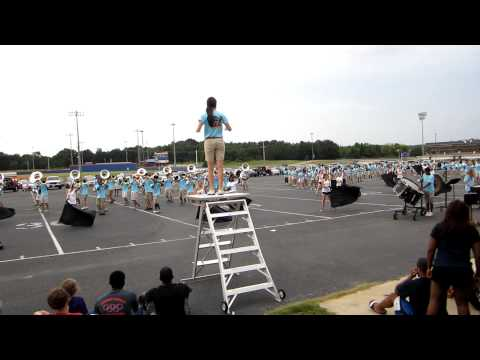 Madison Central High School Band Preview 2012