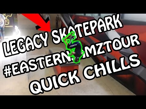 DAY AT LEGACY SKATEPARK | QUICK CHILLS | Grit Scooters UK