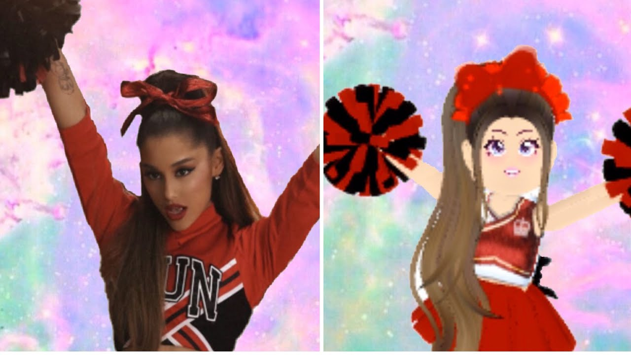 Recreating Ariana Grande S Pictures In Roblox Youtube