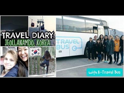 Travel Diary JEOLLANAMDO, KOREA w/ K-Travel Bus 2016 || Soo Hyun