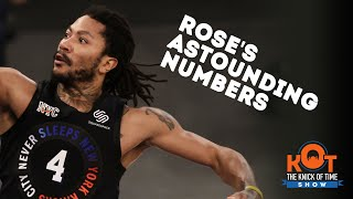 Derrick Rose's Career Numbers