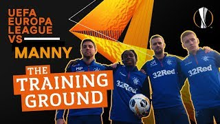 UEFA Europa League VS Manny: The Training Ground
