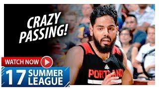 Jorge Gutierrez Full Highlights vs Grizzlies (2017.07.16) Summer League - 16 Pts, 8 Ast, 5 Reb