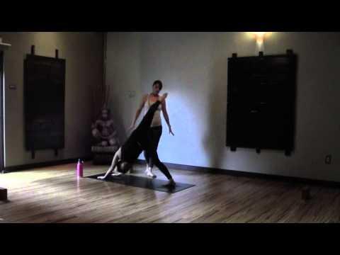 Rachel 30 min Yoga class - Leap