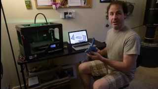 Ivan Owen works on low cost 3-D printed prosthetic hands in his Bellingham home, Friday, Aug. 29, 2014. Owen is a member of e-NABLE, a collaborative online community that works on open source designs of prosthetic fingers and hands.