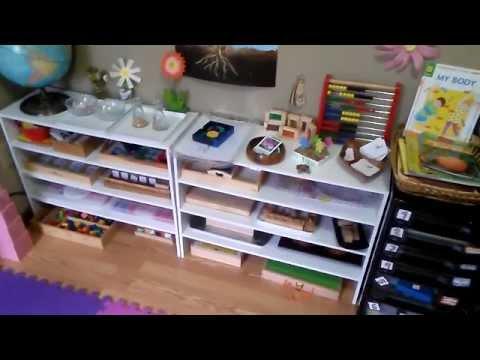 Homeschool weekly activities -Workbox / Montessori