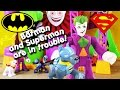 batman and superman saved by krypto and batdog from joker imaginext toys new