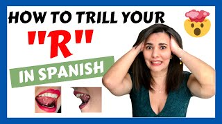 How to TRILL y๐ur R in Spanish