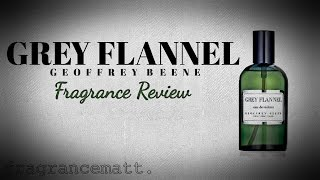 """MFO: Episode 175: Grey Flannel by Geoffrey Beene (1975) """"Is it really that bad!?"""""""