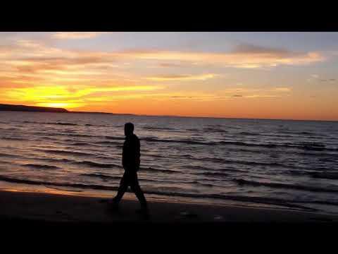 ASMR SUNSET 🌊 WAVES 🌊 SOFT SPOKEN GUIDED RELAXATION