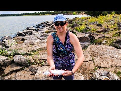 Fly Fishing Ashurst Lake! (Wife OUTFISHES Husband!)