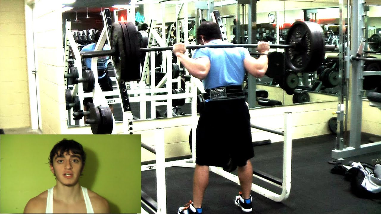92c592280ea6a6 Which Squat Form Is Best For You  High Bar Olympic vs Low Bar Powerlifting  Squat