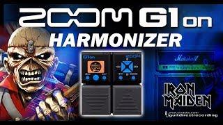 ZOOM G1xon Harmonizer / Harmonist - Iron Maiden style [Settings].