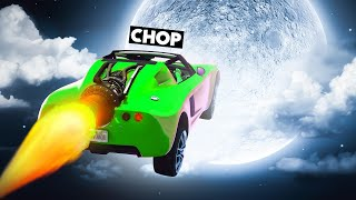 CHOP AND FROSTY WENT TO MOON IN A RACE GTA 5