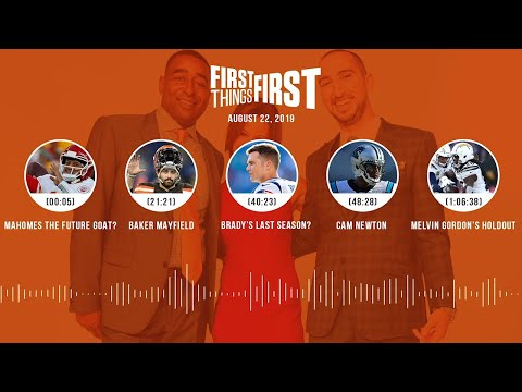 First Things First Audio Podcast(8.22.19) Cris Carter, Nick Wright, Jenna Wolfe   FIRST THINGS FIRST