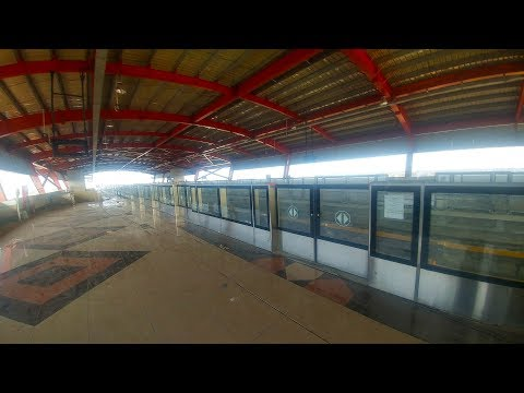 [Update] Metro Train : Orange Line | Inside Dera Gujjran Station | Lahore