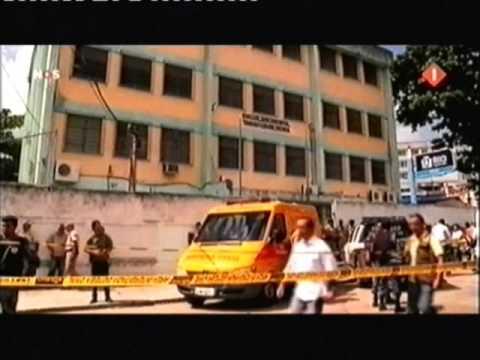 School shooting attack - Rio de Janeiro, Brazil - 07 Apr 2011 (NOS journaal)