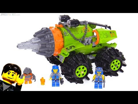LEGO Power Miners Thunder Driller From 2009!  Set 8960