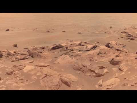 Mars seen by Opportunity rover HD