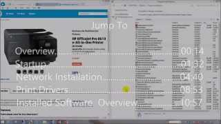 HP Officejet Pro 8610 Software & Network Installation