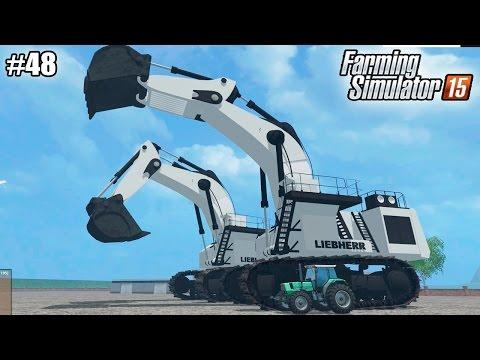 Farming Simulator 15 моды: САМЫЕ БОЛЬШИЕ МОДЫ (48 серия) (1080р)