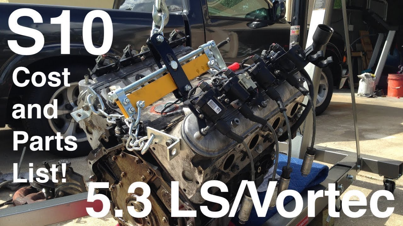 Engine Swap Cost >> S10 Ls Swap Parts List And Total Cost Everything You Need To Know