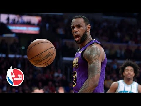 LeBron drops 27 points as the Lakers defeat Kemba Walker and the Hornets 129-115 | NBA Highlights thumbnail