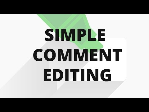 How to Allow Users to Edit their Comments in WordPress - 동영상