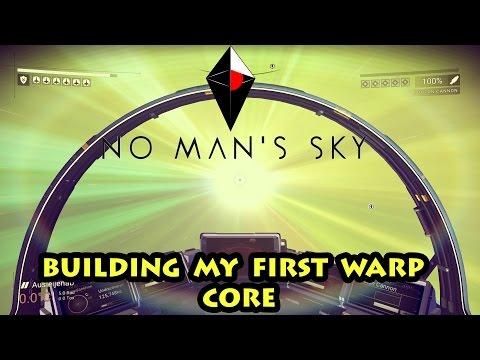 BLOWING UP PIRATES & BUILDING WARP CORES - No Man's Sky - Reunion Episode 4