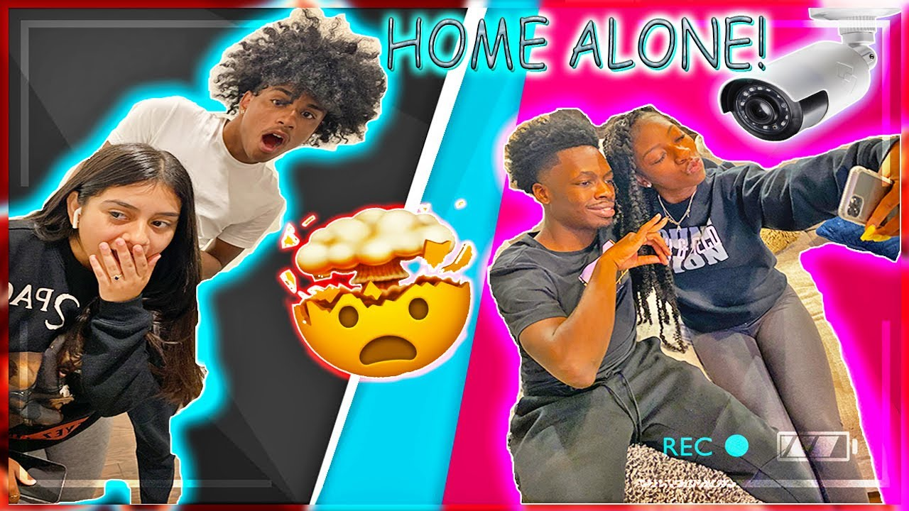 HIDDEN CAMERA‼️WE LEFT MONDRIAN AND AUQUAY HOME ALONE😱......YOU WONT BELIEVE WHAT THEY DID 😍