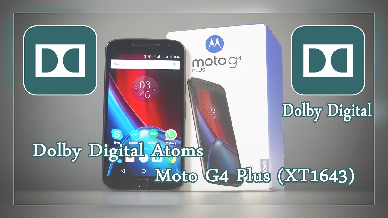 Dolby Digital Equalizer in Moto G4 Plus (XT1643)