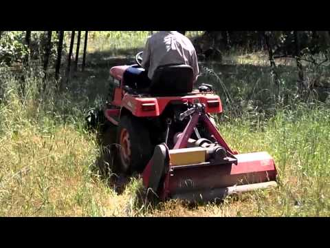 The Tractor Chronicles ~ Episode #5 ~ The Post-Winter Mow