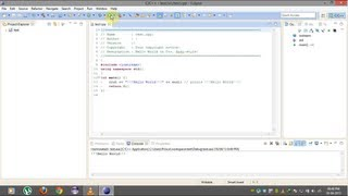 How to install and run Eclipse IDE for C/C++ Developers on windows