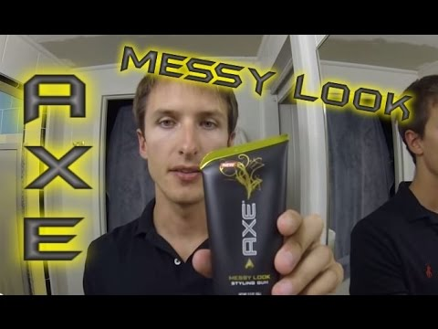 axe messy look hair styling and product review youtube