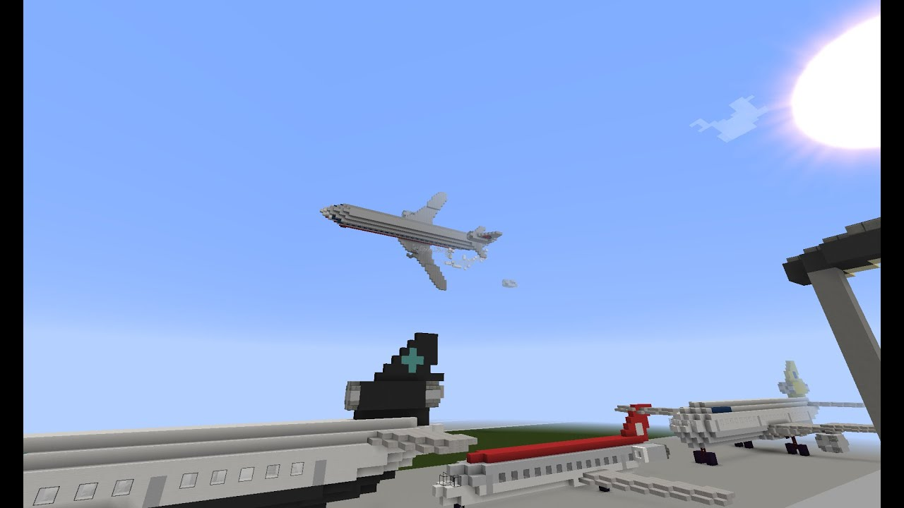 minecraft aircrash investigation american airlines