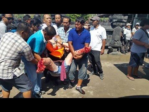 ACCIDENT, Meledaknya fast boat Cat 2  di perairan Padangbai Karangasem Bali