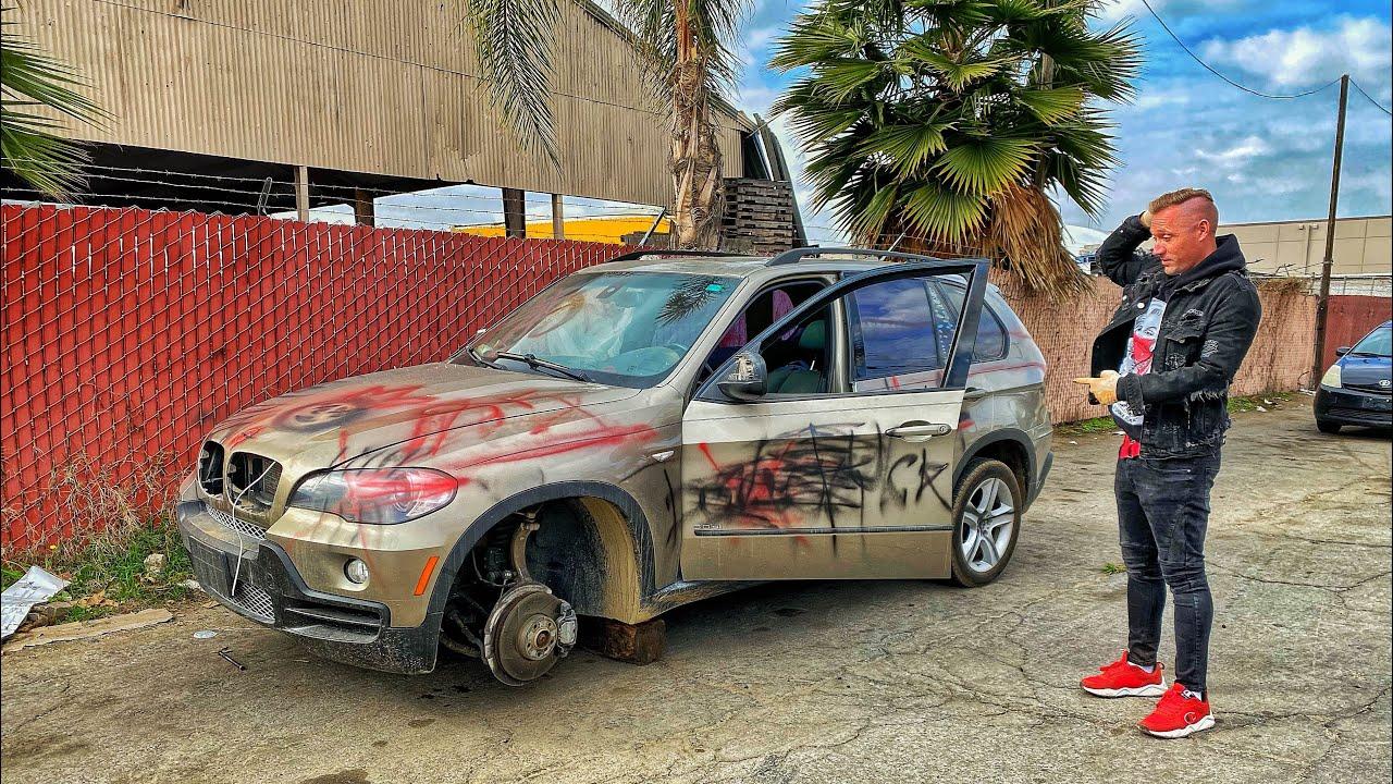 Забрали брошенный BMW X5 за 750$ Что с ней?