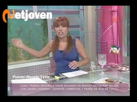 Magaly Medina: Mónica Hoyos se alucina la estrella del Perú