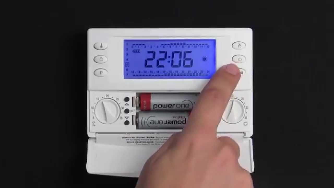 Magictime Plus Cronotermostato Elettronico Settimanale Youtube