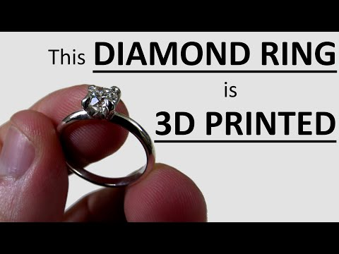 this-diamond-engagement-ring-is-3d-printed-||-she-said-yes!