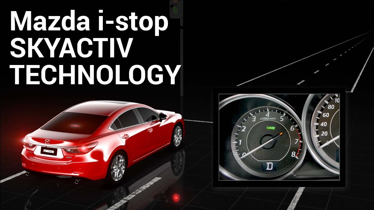Mazda I-stop Explained - Idling Stop - Discover Your Mazda