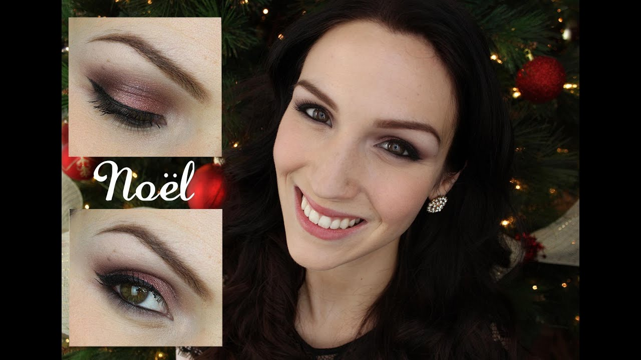 Fabuleux Tutoriel maquillage Noël (produits abordables) - YouTube IG68