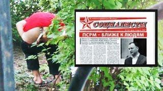 Агитатор ПСРМ нагадил во дворе и подтерся газетой СОЦИАЛИСТЫ