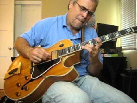 A few licks on a Gibson L4