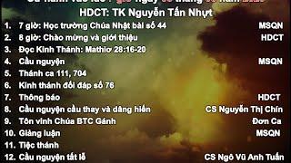 HTTL PHƯỚC AN - Chương trình thờ phượng Chúa - 03/05/2020